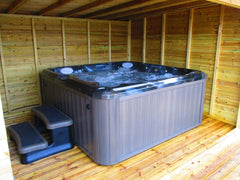 Hot Tub Installation for Dodgson