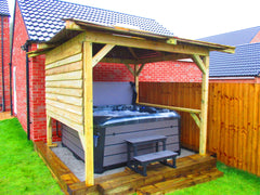 Hot Tub Installation for Wise