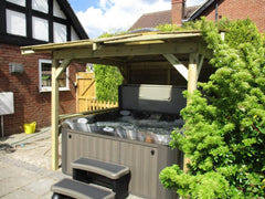 Hot Tub Installation for Forman