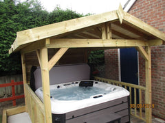Hot Tub Installation for Haden