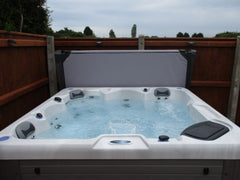 Hot Tub Installation for Swain