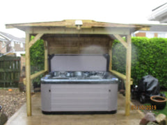 Hot Tub Installation for Willerton