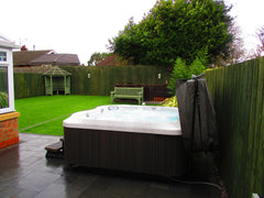 Hot Tub Installation for Thomas