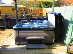 Hot Tub Installation for Harper