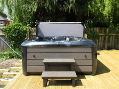 Hot Tub Installation for Tynan