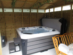 Hot Tub Installation for Steven