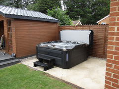 Hot Tub Installation for Turner