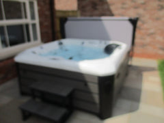 Hot Tub Installation for Button