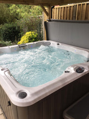 Hot Tub Installation for Vyvyan