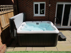 Hot Tub Installation for Randall