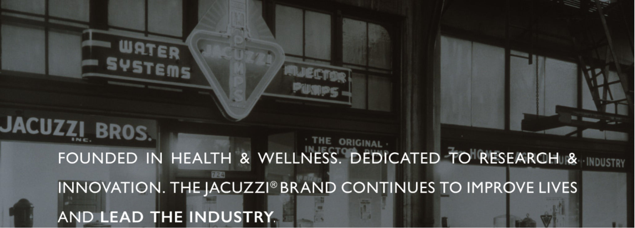 The Jacuzzi® Brand at Outdoor Living