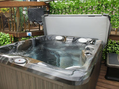Hot Tub Installation for Land