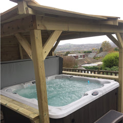 Hot Tub Installation for Kevin Laycock