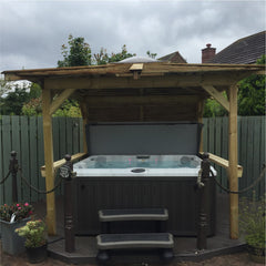 Hot Tub Installation for Ledger
