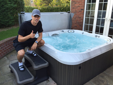 Hot Tub Installation for Markus