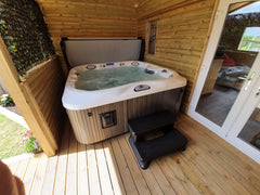 Hot Tub Installation for Brook