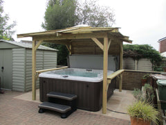 Hot Tub Installation for Padgett