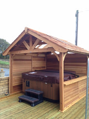 Hot Tub Installation for Mr & Mrs Blair, Wakefield