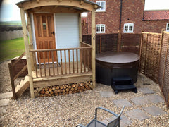 Hot Tub Installation for West Hale Gate Glamping