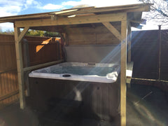 Hot Tub Installation for Hughes