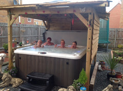 Hot Tub Installation for Mr Harrison in Hull
