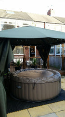 Hot Tub Installation for Allan and Sue Walters