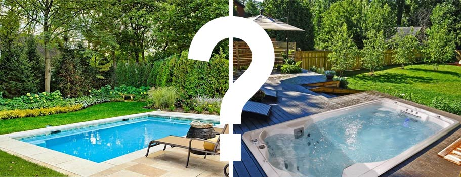 Swim Spa Vs Small Swimming Pool Which Is Better Jacuzzi Direct