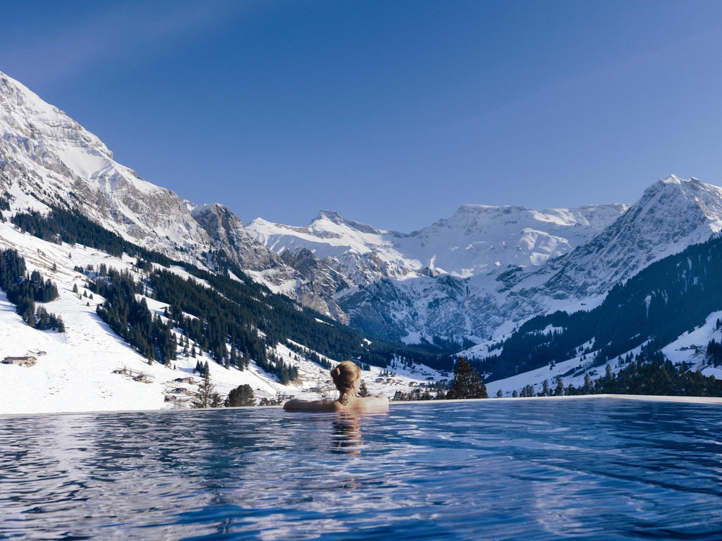 The Cambrian Hotel Infinity Pool, Switzerland
