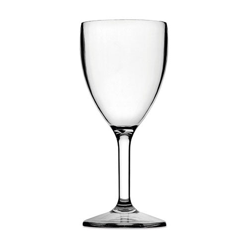 Large Wine Glass (Clear) - Plastic & Dishwasher Safe