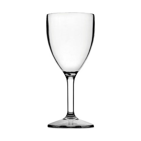 Small Wine Glass (Clear) - Plastic & Dishwasher Safe