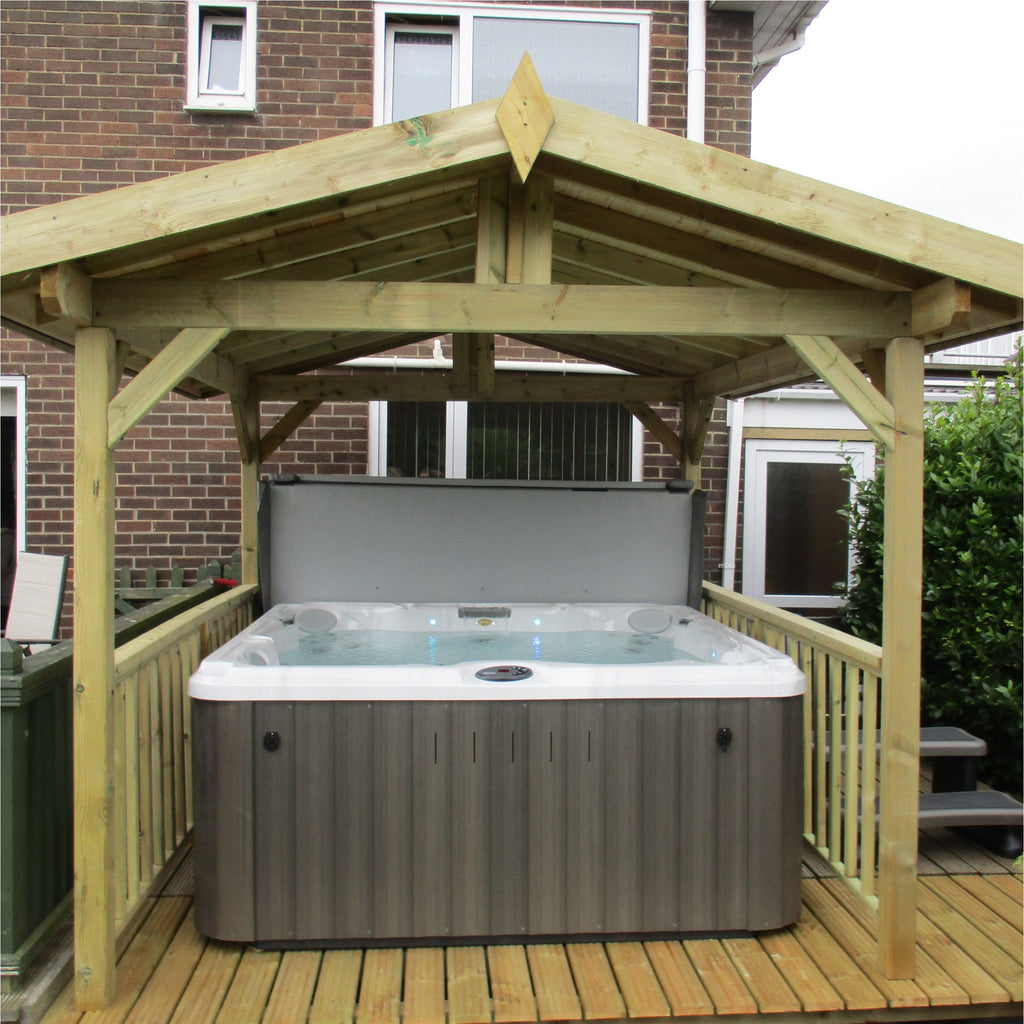 Jacuzzi® J235™ Hot Tub with Gazebo package