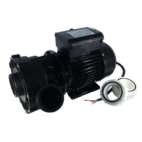 Jacuzzi® Lodge 1 Speed Pump. (Used on Heat Exchanger Spa). Part No. 930109410