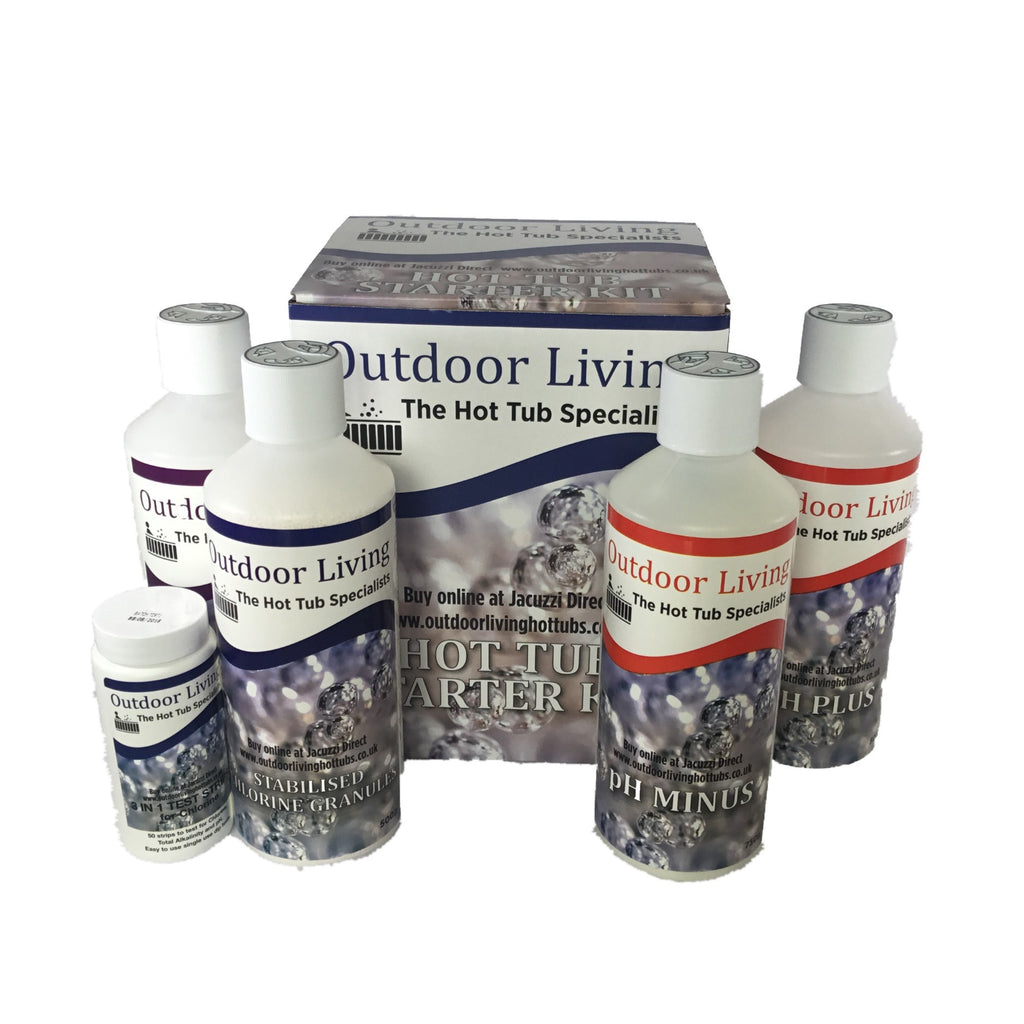 Hot Tub Chemical Starter Kit | Outdoor Living