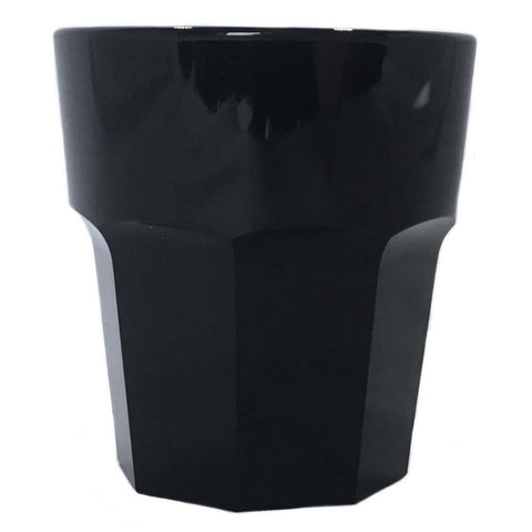 Small Drink Tumbler (Black) - Plastic & Dishwasher Safe