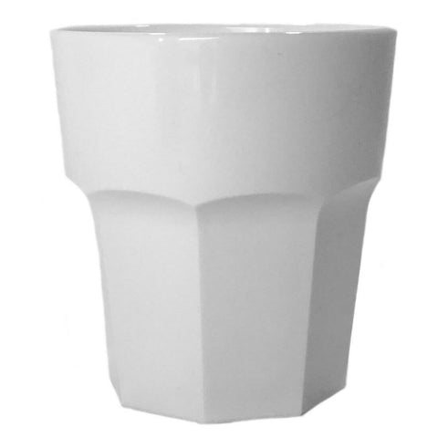 Small Drink Tumbler (White) - Plastic & Dishwasher Safe