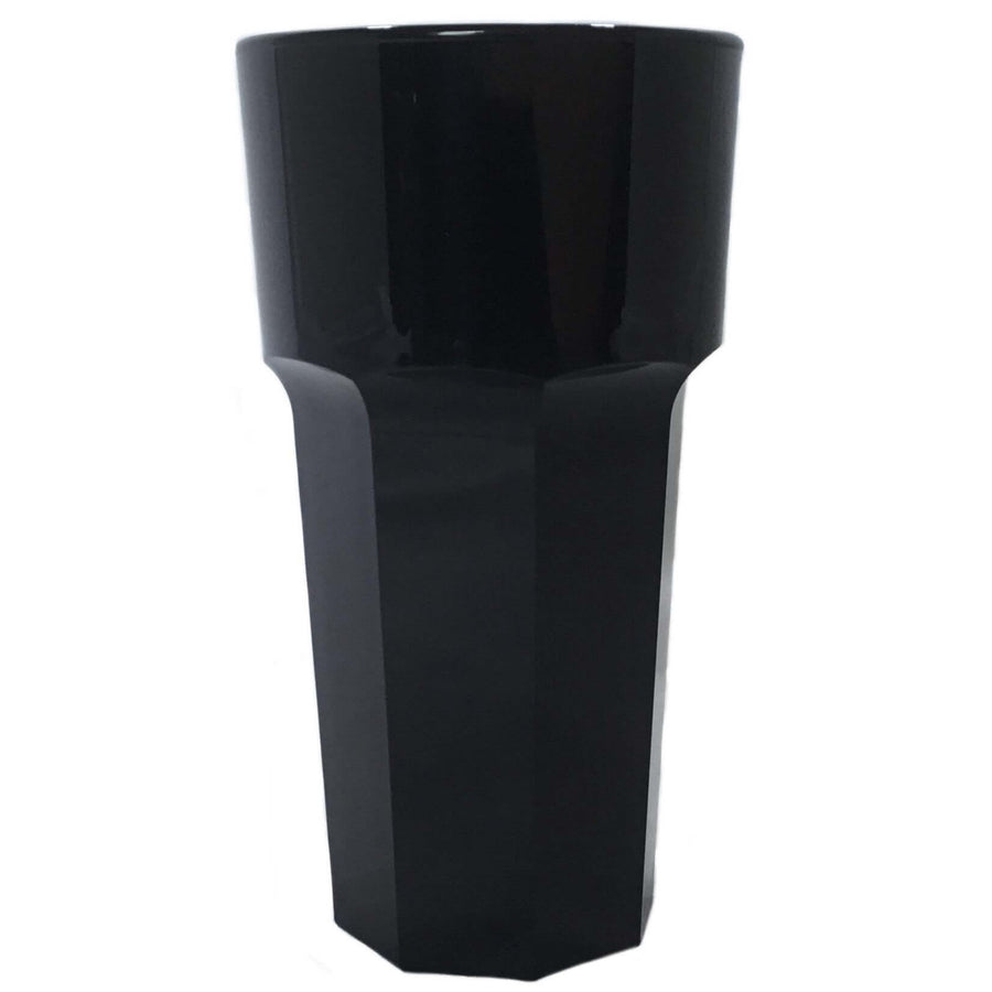 Large Drink Tumbler (Black) - Plastic & Dishwasher Safe