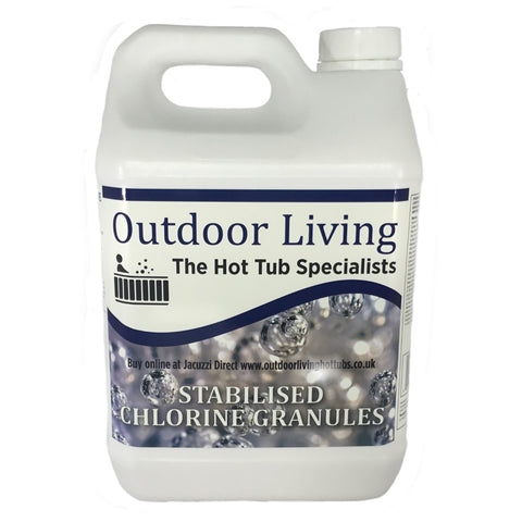 Hot Tub Chlorine Granules (5kg) | Outdoor Living