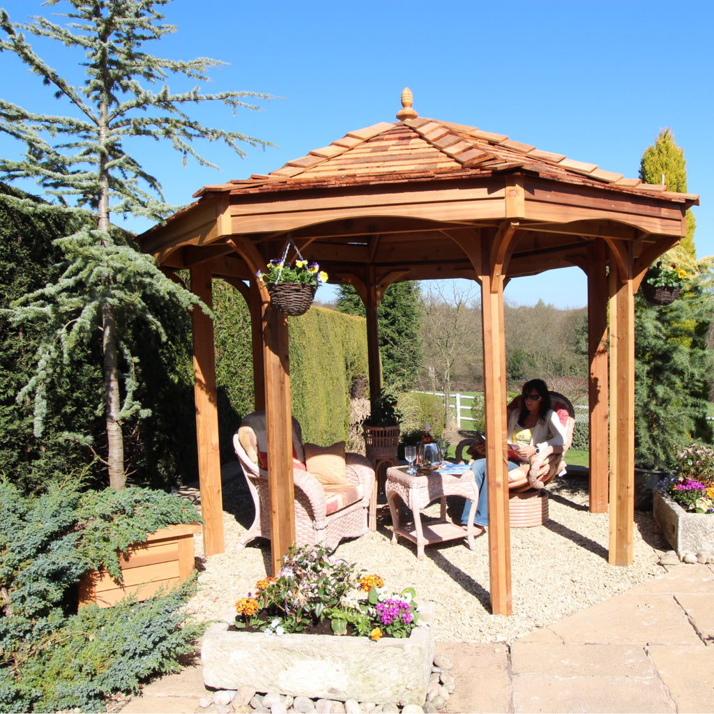 CedarLodge Octagonal Gazebo | Selection A