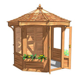 CedarLodge Octagonal Gazebo | Selection C