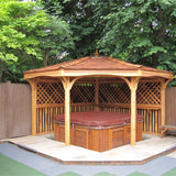 CedarLodge Quarter Gazebo | Selection D
