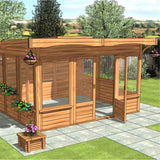 CedarLodge Rectangular Monopitch Gazebo | Selection C