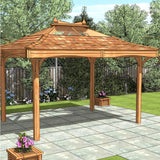 CedarLodge Rectangular Gazebo | Selection A