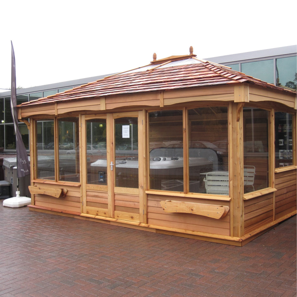 CedarLodge Rectangular Gazebo | Selection C