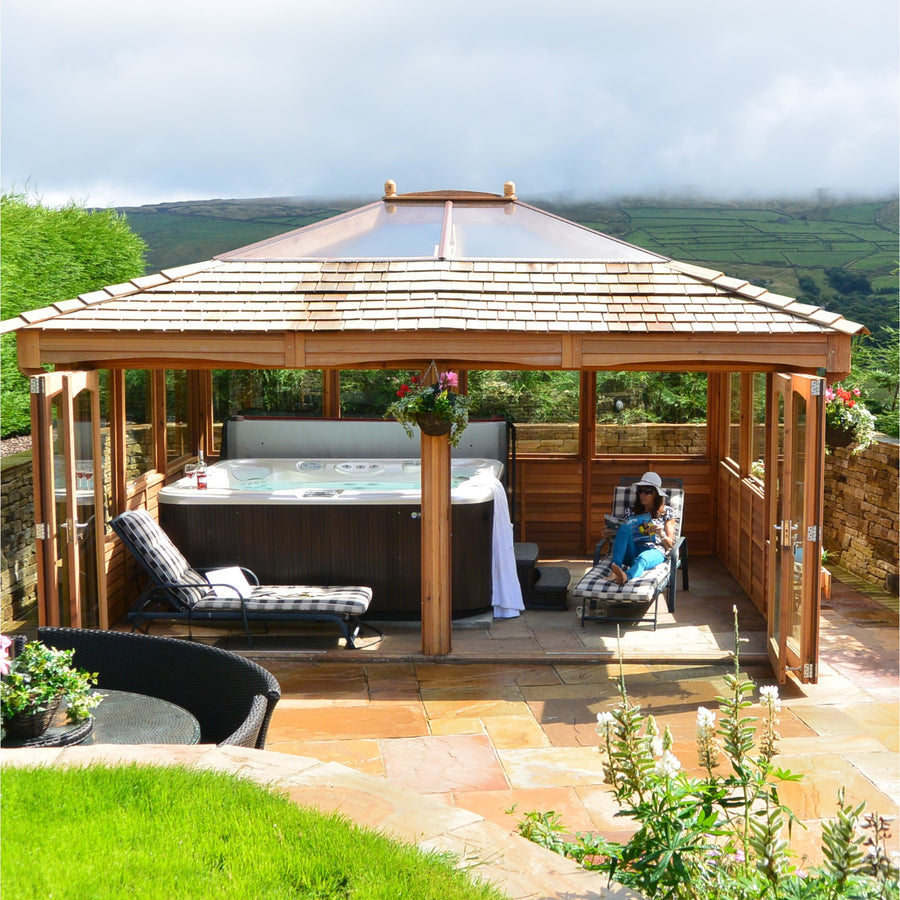 CedarLodge Rectangular Gazebo | Selection D