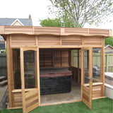 CedarLodge Square Monopitch Gazebo | Selection C