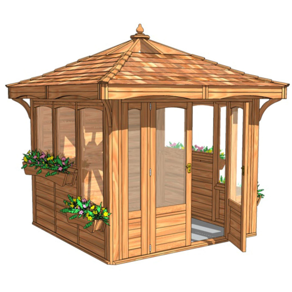 CedarLodge Square Gazebo | Selection C