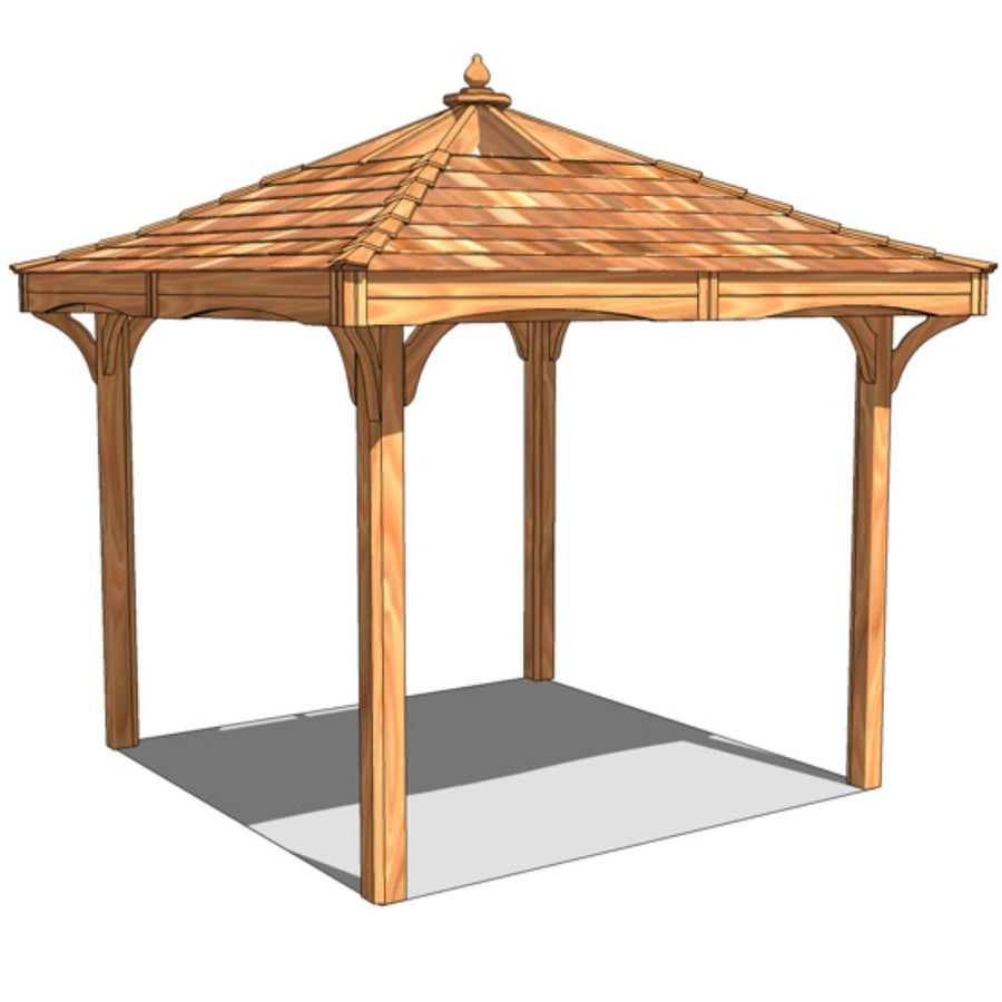 CedarLodge Square Gazebo | Selection A