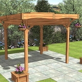 CedarLodge Square Monopitch Gazebo | Selection A