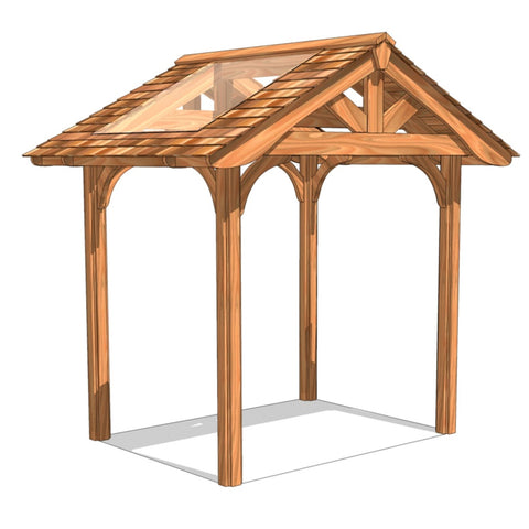 Cedella Rectangular Gazebo | Selection A