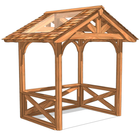 Cedella Rectangular Gazebo | Selection B